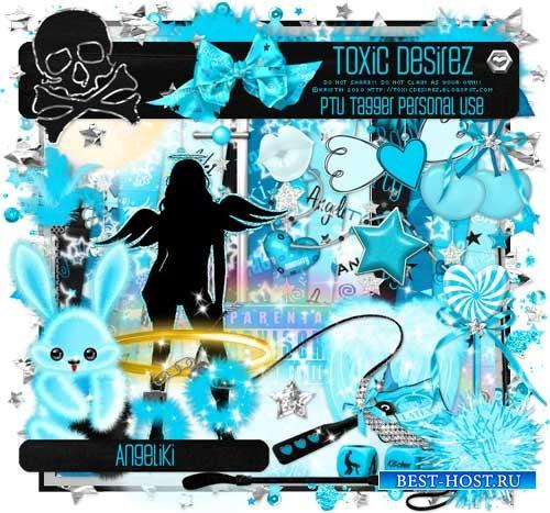 Креативный скрап-комплект - Angeliki