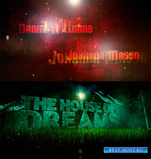 Проекты - House Of Dreams and Fiery Open для After Effects