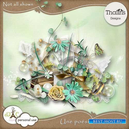 Нежный летний скрап-комплект - Милая поэзия