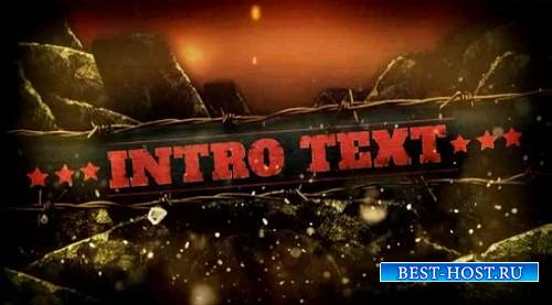Проект - Tectonic Rupture для After Effects
