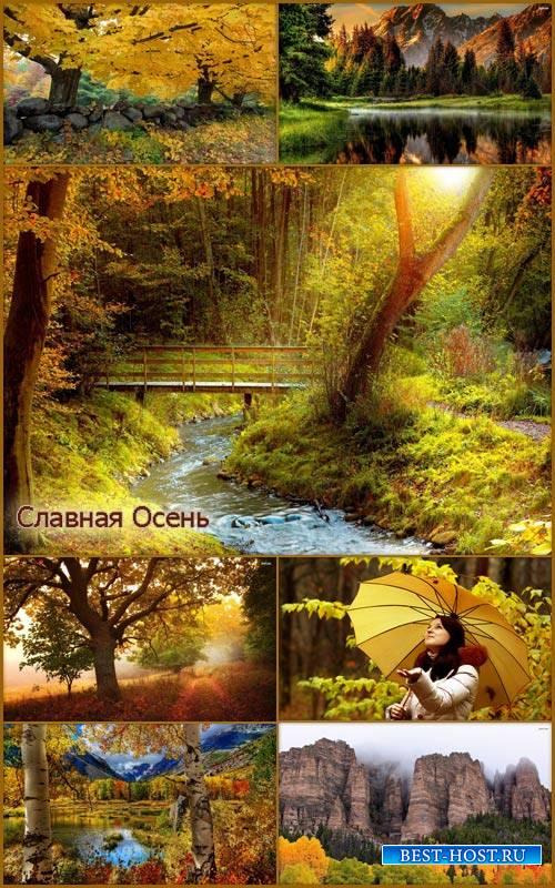 HD обои - Природа осень