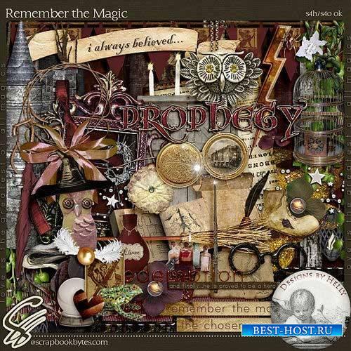 Сказочный скрап-комплект - Вспомните магию