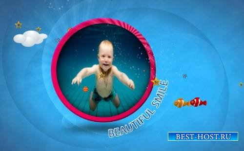Проект - Baby or Kids Gallery для After Effects