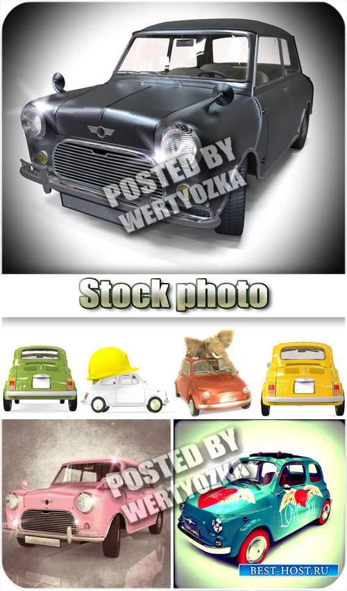 Ретро автомобили / Retro cars - stock photos