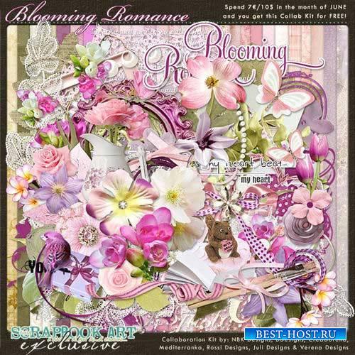 Цветочный скрап-комплект - Цветущая романтика