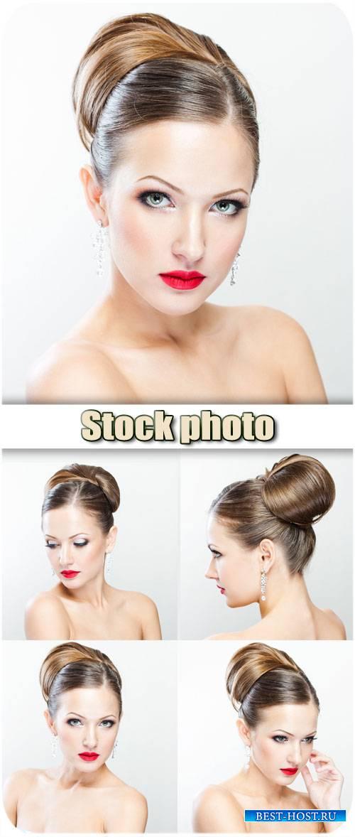Романтичная девушка / Romantic girl - stock photos