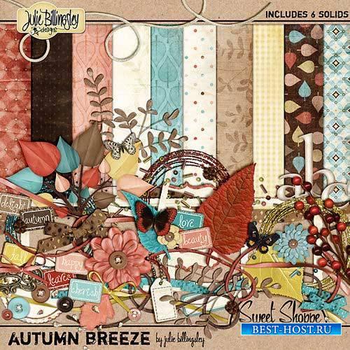 Осенний скрап-комплект - Осенний ветерок
