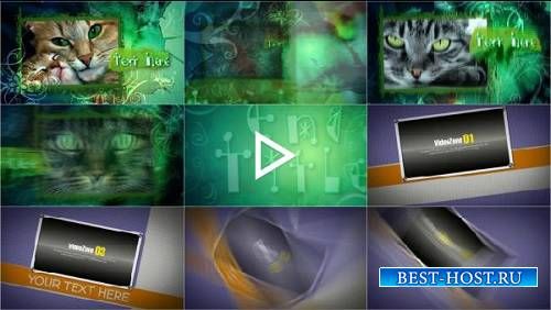 Проекты - Forest Fantasy и Memory Ridge для After Effects