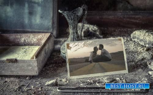 Фоторамка psd - Старые теплые воспоминания