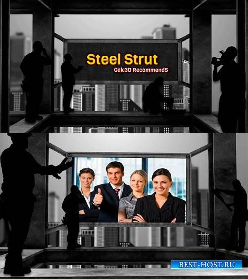 Проект для After Effects - Steel Strut