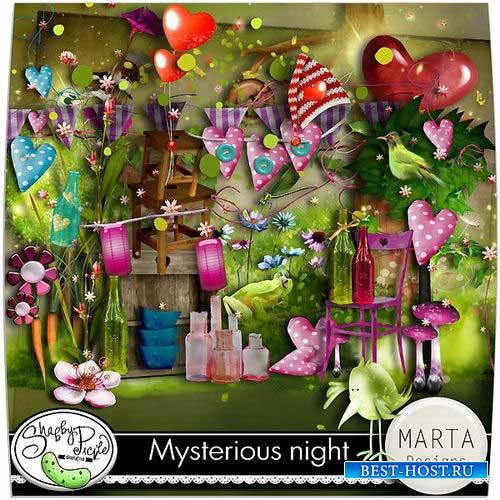 Детский сказочный скрап-комплект - Таинственная ночь