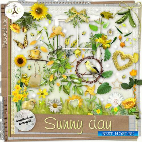 Яркий летний скрап-комплект - Солнечный денёк