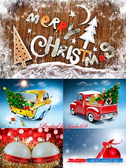 Растровый клипарт - Счастливого Рождества