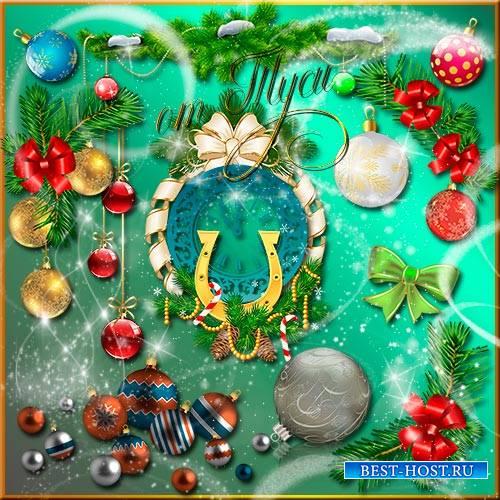 Клипарт - Новогодняя ночь