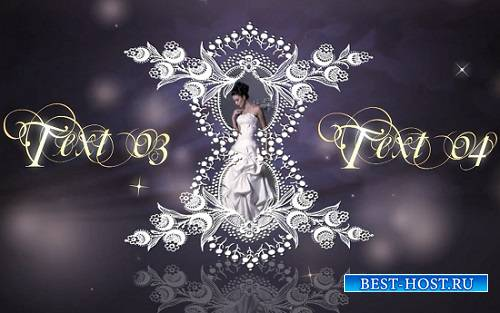 Проект для After Effects - Wedding laces