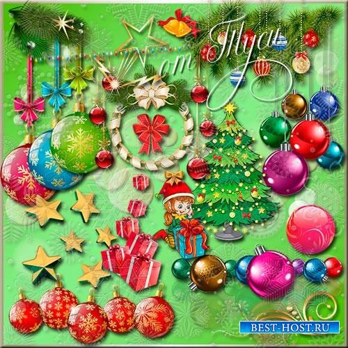 Клипарт - Новогоднее ассорти