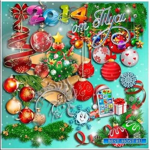 Клипарт - Новогодняя ярмарка