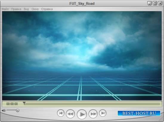 Футаж для оформления видео - Пушистые облака