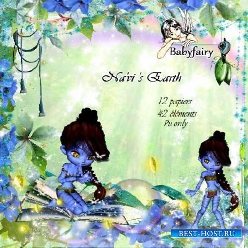 Сказочный скрап-комплект - Navis Earth