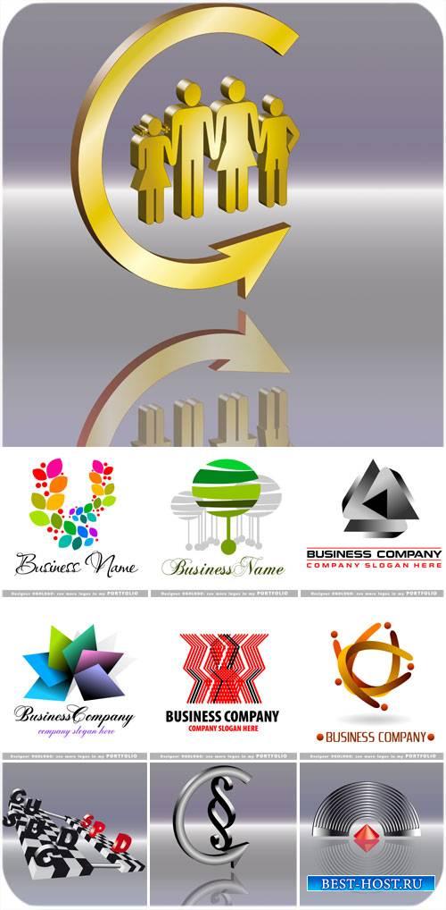Логотипы, бизнес - вектор