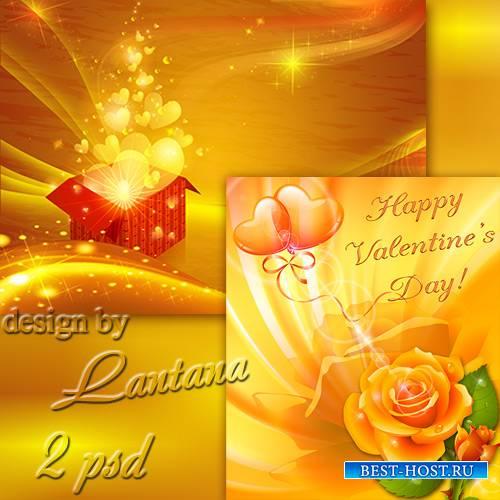 PSD исходники - Когда настанет День Любви 10