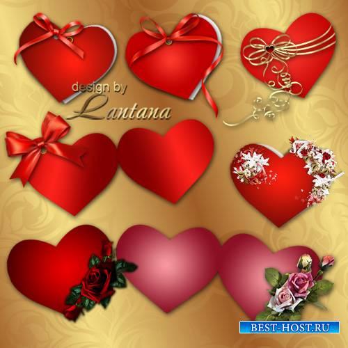 Открытки - валентинки к празднику влюбленных