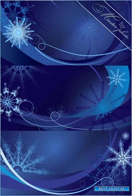 Многослойный PSD исходник - Снежинок легкость