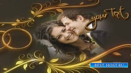 Проект - Wedding Rings для After Effects VideoHive