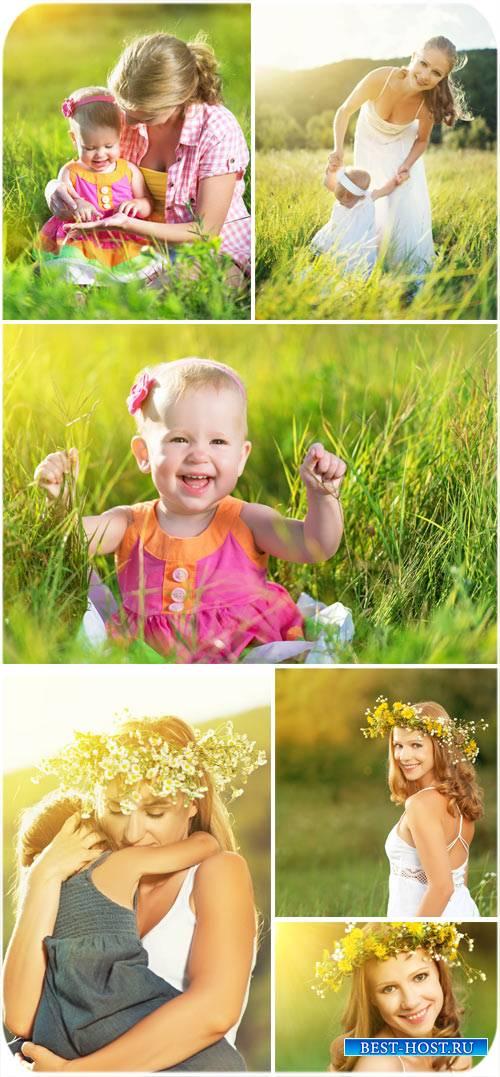 Картинки для фотошопа девушка на природе