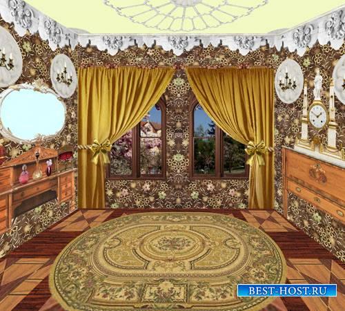 Клипарт Кукольный дворец 01Спальня