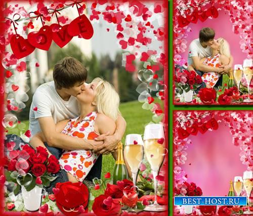 Фоторамочка  - Love , Love