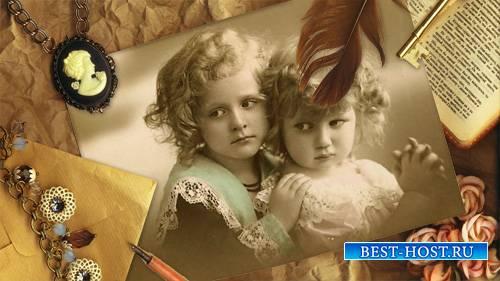 Рамка для фотошоп - Под старинную фотографию