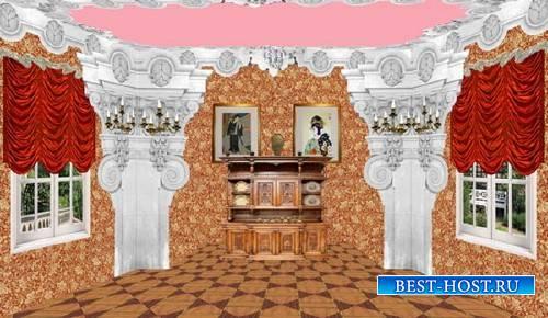 Клипарт Кукольный дворец 05Столовая
