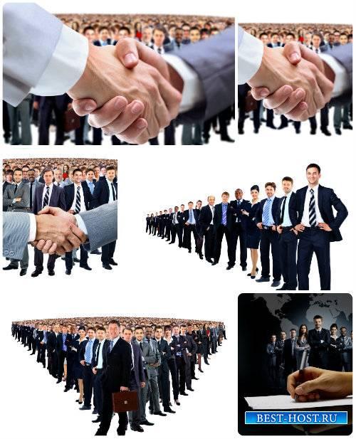 Бизнес встреча,бизнес люди - сток фото / Business meeting, business people