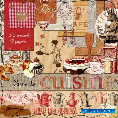 Поварской скрап-комплект - Шумная кухня