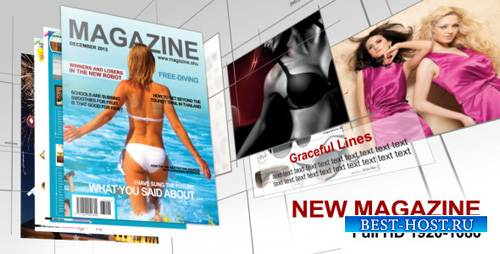 New Magazine - Project for After Effects (Videohive)