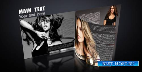 3D magazine 538330 - Project for After Effects (Videohive)