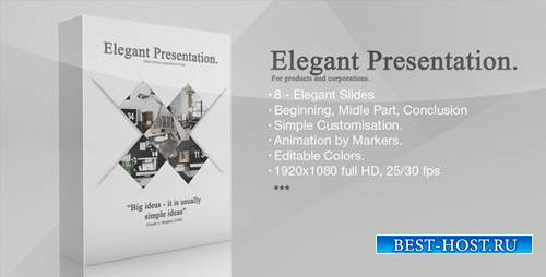 Elegant Presentation 6575583 - Project for After Effects (Videohive)