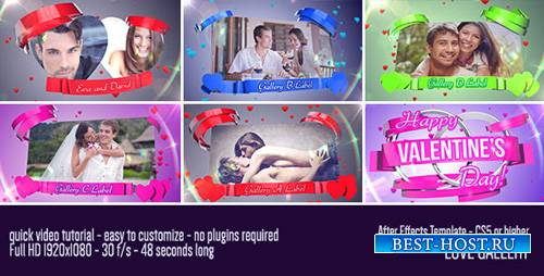Love Gallery - Project for After Effects (Videohive)