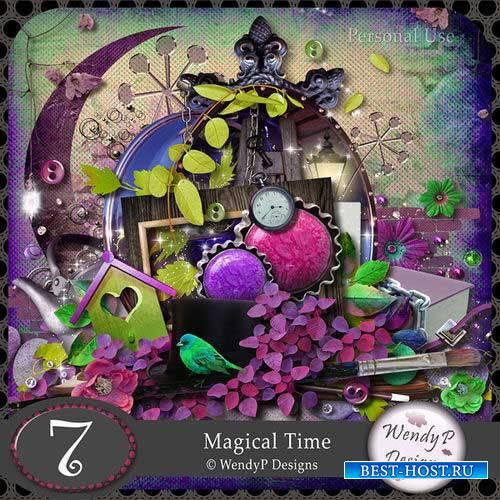 Скрап-комплект с нотками волшебства - Волшебное время
