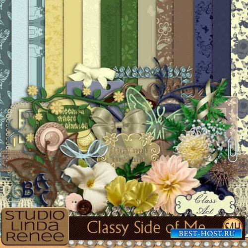 Цветочный скрап-комплект - Мой стиль