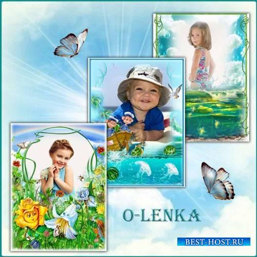 Фоторамки для детей - Мир детства