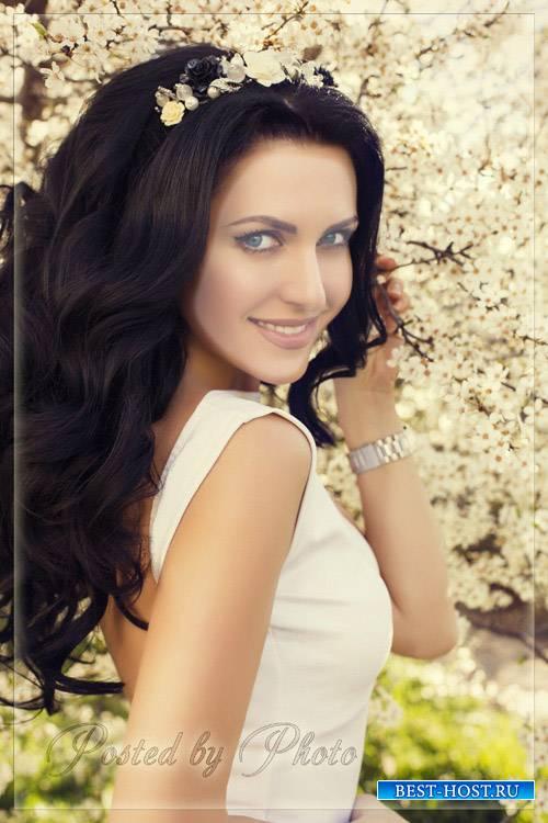 Фотокостюм фотошопа-красотка psd 1200x1800 px