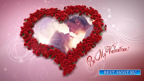 Heart Of Roses - Project for After Effects (Videohive)