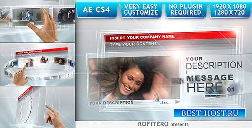 Touch Screens - Project for After Effects (Videohive)