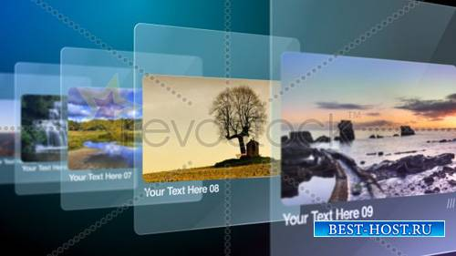 Glass Slides 775488 - Project for After Effects (Revostock)