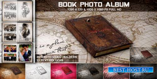 Book Photo Album - Project for After Effects (Videohive)
