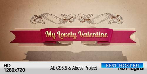 My Lovely Valentine - Project for After Effects (Videohive)