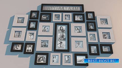 Family Photowall - Project for After Effects (Videohive)