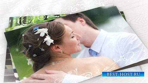 Wedding Photo Gallery with Ornament - Project for After Effects (Videohive)